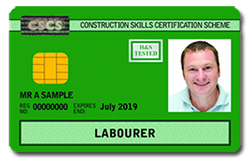 CITB CSCS green labourer card